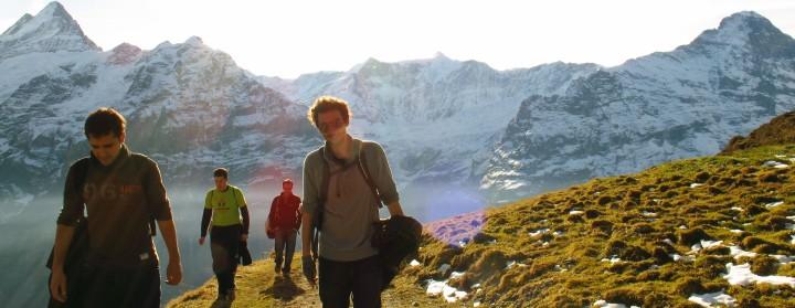 friendship hiking